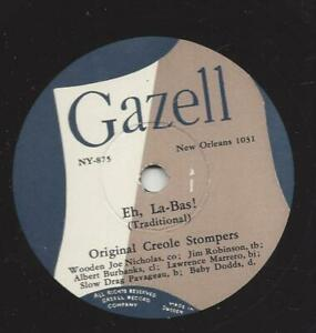 Original Creole Stompers : Eh, la - Bas + Up jumped the devil