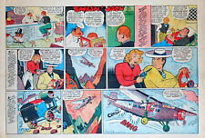 Smilin' Jack by Zack Mosley - half-page full color Sunday comic - June 29, 1941