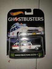Hot wheels retro entertainment Ghostbuster Ecto 1