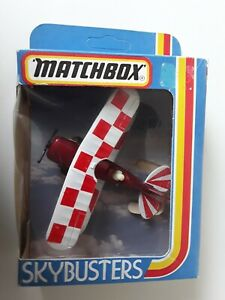 VINTAGE 1981 - MATCHBOX SKYBUSTERS SB-12 PITTS SPECIAL - NEW