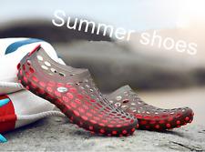 Men Sandals Fashion Plastic Sandals Summer Beach Shoes Water Shoes Slippers
