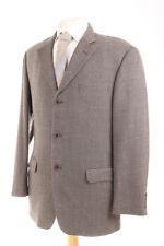 m&s Italiano Negro y dorado con textura hombre chaqueta deportiva 40r