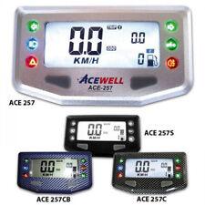 Acewell,Multifunktionelles Digitalinstrument, schwarz, Tacho-Tank-Uhr-Kontrollle