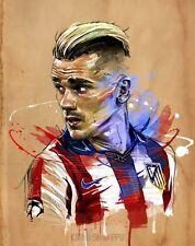 Poster A3 Antoine Griezmann Atletico De Madrid Futbol Football Deporte Sport 08