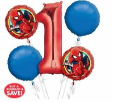 Spiderman Birthday, Child Party Foil Balloons