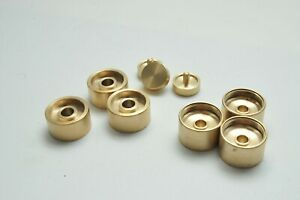 Weighted 9 Pcs Trumpet Finger Buttons Magetone fit Bach, B&S & Yamaha Trumpets