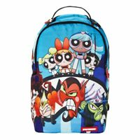 SPRAYGROUND Backpack Bag - POWERPUFF GIRLS SHARK School Laptop book Student