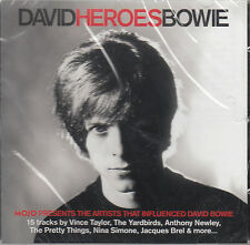 MOJO David Bowie Heroes 15-trk CD SEALED Billy Fury Pretty Things Vince Taylor