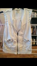 Forever 21 Size Small Zip Up Vest