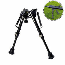 "6"" To 9"" Adjustable Spring Return Sniper Hunting Rifle Bipod Sling Swivel Mount"