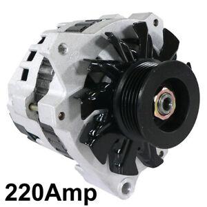 NEW 220AMP ALTERNATOR FITS GMC CHEVROLET C1500-3500 K1500-3500 10463212 10463148