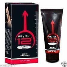 """100% Natural Why Not 12"""" Penis Massage Cream Rapid Enlargement Growth 100gm"""
