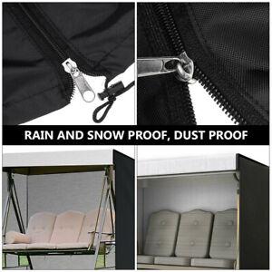 3 Seater Swing Hammock Cover Outdoor Garden Patio Waterproof Sunscreen Protector