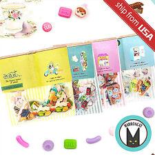 Lot 176 Kawaii Japan Transparent House dessert Sticker Flakes Cute Diary Seal