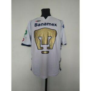 Pumas UNAM soccer jersey Lotto 2005/2006 Size M match worn