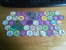 Lot Of 47 Yu-gi-oh Hexors Metal Coins Medallions Charms Tokens Game Rare