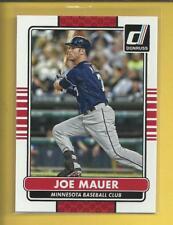 Joe Mauer 2015 Panini Donruss Card # 118 Minnesota Twins Baseball MLB