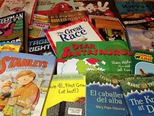 100 Children's Books Grade Level k-1  w/Free Shipping .59 each