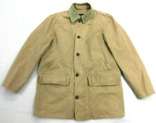 Men's 90's Gap Distressed Canvas Insulated Lined Winter Field Jacket Barn Coat M