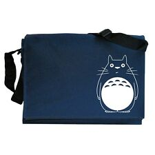 Totoro Inspired Japanese Anime Manga Navy Blue Messenger Shoulder Bag