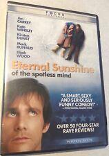 Eternal Sunshine of the Spotless Mind Dvd 2004 Ws Jim Carrey Kate Winslet Gondry