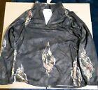 Mossy Oak 1/4 Zip Pullover Size 2xl (50-52) Interesting Pattern Great Shape