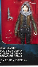 """STAR WARS ROGUE ONE SERGEANT JYN ERSO JEDHA REVOLT PACK 3.75"""" MINT FREE SHIPPING"""