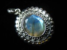 Labradorite Pendant - FREE Shipping, FAST Delivery, US Seller, 925 Pure Silver
