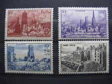 FRANCE neufs  n° 744 à 747 (1945)