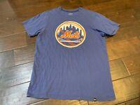 Forty Seven Brand MLB New York Mets Baseball Crewneck T Shirt - Size Medium