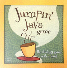 JUMPIN' JAVA GAME Simple enjoyable strategy game for the coffee table 8 years +