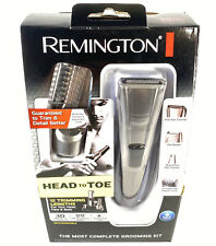 Remington Cordless Shaver Grooming Kit W/ Recharging Stand & Body Hair Trimmer