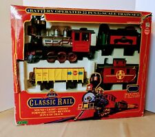 ECHO THE CLASSIC RAIL 26 PCS TRAIN SET G SCALE 1990 COMPLETE IN BOX CIB tested