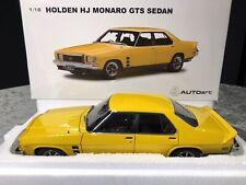 1:18 Holden HJ Monaro GTS Sedan (Absinth Yellow) AUTOart BNIB COA