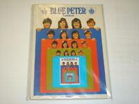 BLUE PETER  BRITISH ANNUAL TENTH BOOK 1973 BBC
