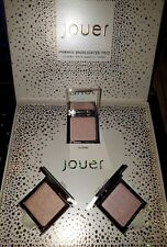 Jouer Powder Highlighter Set 1 Citrine, Rose Quartz & Topaz Ltd Edition BNIB