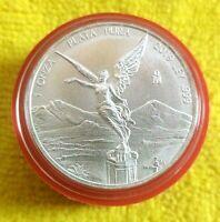 2019 1 oz Silver Libertad 1 Onza Plata Pura Bullion Coin in Capsule MEXICO Coin
