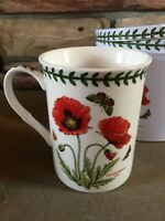 Portmeirion Botanic Garden Mug = Poppy Flower Pattern