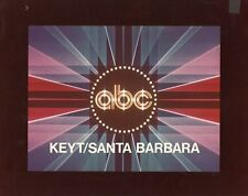 ABC TV NETWORK LOGO KEYT SANTA BARBARA ORIGINAL 1981 ABC TV PHOTO BILLBOARD