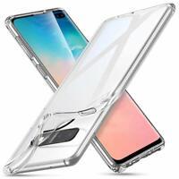 Für Samsung Galaxy S10 Hülle Schutzhülle Transparent Case Clear Cover