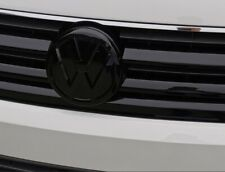 VW Transporter T6 Front And Rear Black badge (EASY INSTALL)