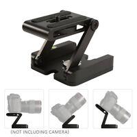 Pro Aluminum Folding Z Flex Tilt Head Quick Release Plate +Ball Head For Camera