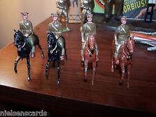 Britains Pre-War Set 229 U.S. Cavalry mounted 4 of 5 original figures C-6
