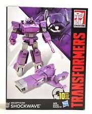 Transformers Generations Decepticon Shockwave Transforming Robot Vehicle