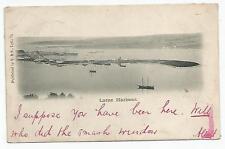 northern ireland postcard ulster irish antrim larne harbour