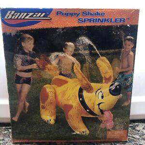 "VTG BANZAI inflatable 45"" Puppy Dog Shake Sprinkler"
