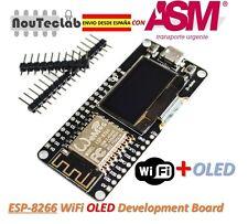 ESP12F ESP8266 OLED NodeMCU WiFi WeMOS Development Board