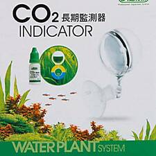 long-term CO2 Test Monitor indicator Aquarium aquatic water plant moss fish pH