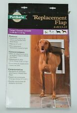 PetSafe Large Replacement Flap for Classic & Deluxe Dog Pet Doors 4-0113-11 Open
