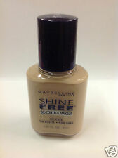 Maybelline Shine Free Oil-Control Makeup Foundation ( BUFF ) NEW.